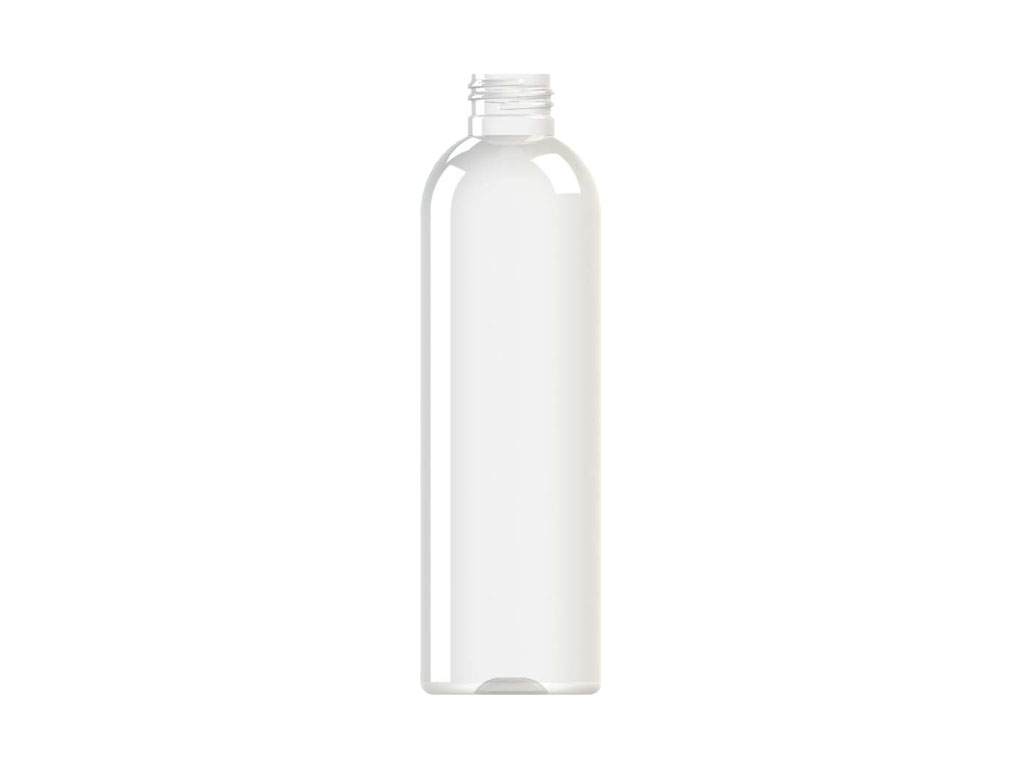 Envase PET 250ml M2 cilíndrico transparente 24/410