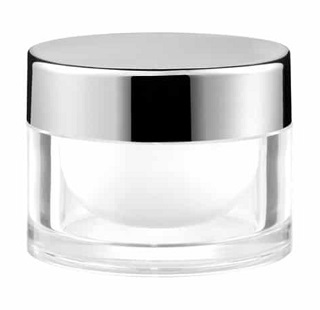 Tarro Diamond 50ml base gruesa PCTG/PP